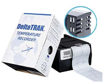 In-Transit Temperature Chart Recorder DeltaTrak